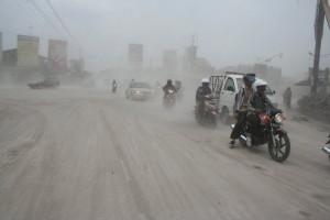 Hujan Abu Jogjakarta