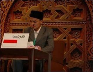 Qari' Indonesia Juara Satu MTQ Internasional di Maroko
