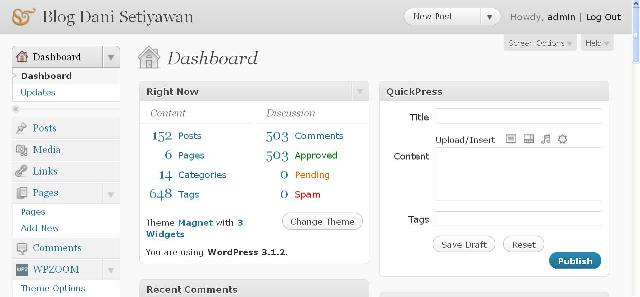 Mengubah Logo WordPress Pada Dasbor