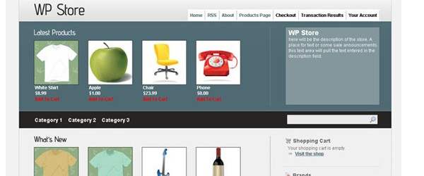 Theme WordPress Untuk Toko Online ECommerce