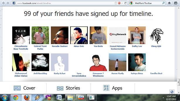 Mengubah Tampilan Profil Facebook Menjadi Timeline