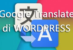 Cara Memasang Google Translate di WordPress