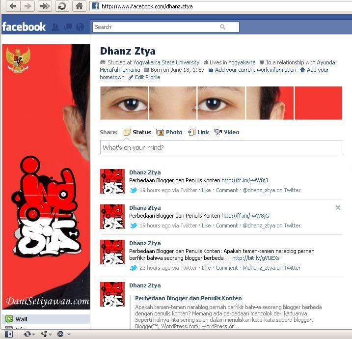 Foto Profil Facebook Danisetiyawan.com