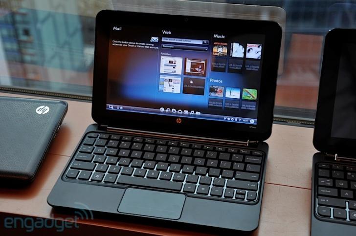 Startup Log on HP mini 210-2103TU - Raspberry