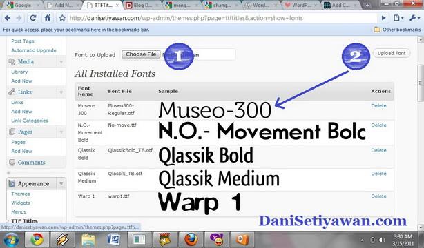 Cara Mengganti Jenis Huruf  Font Judul Post WordPress 2