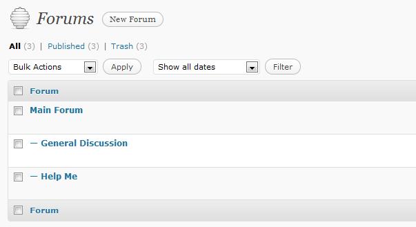 Membuat Forum di WordPress