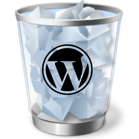 Menghapus Isi Trash Blog WordPress
