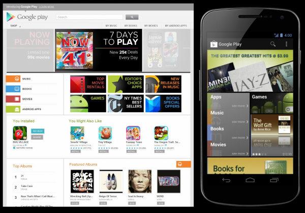 Google Play Pengganti Android Market